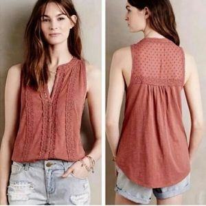 Meadow Rue Jenson Sleeveless Top Sz S ::GG1